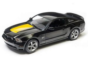 2010 FORD MUSTANG GT - BLACK WITH YELLOW