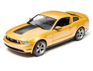 2010 FORD MUSTANG GT - GOLD/YELLOW WITH BLACK