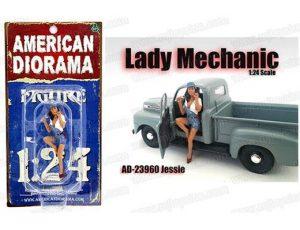 LADY MECHANIC - JESSIE FIGURINE