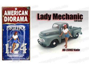 LADY MECHANIC - KATIE FIGURINE