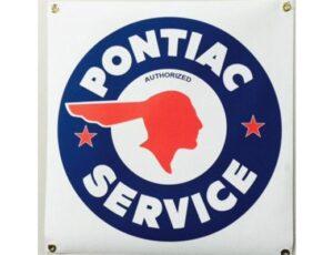 PONTIAC SERIVCE BANNER