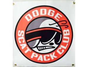 DODGE SCAT PACK BANNER