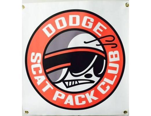 DODGE SCAT PACK BANNER