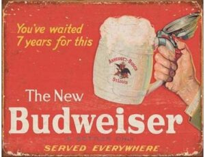 THE NEW BUDWEISER - YOU HAVE WAITED SEVEN YEARS FOR THIS