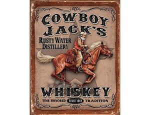 COWBOY JACKS WHISKEY