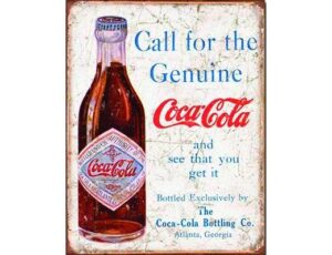 COKE CALL FOR THE GENIUNE