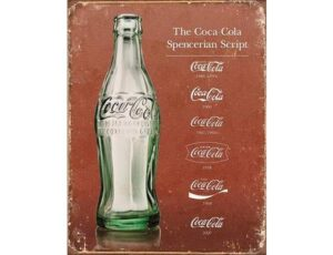 THE COCA COLA SPENCERIAN SCRIPT