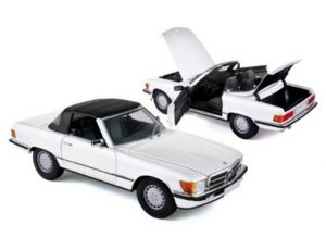1986 MERCEDES BENZ 300SL WHITE