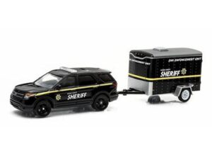 2014 Ford Interceptor Utility with DWI Enforcement Unit Trailer