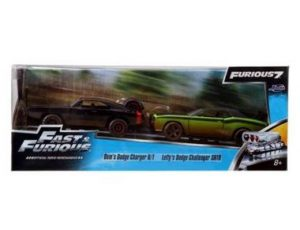 Fast & Furious Twin Pack: Dom's Dodge Charger and Letty's Dodge Challenger