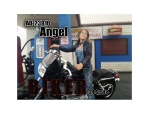 ANGEL - BIKER FIGURINE