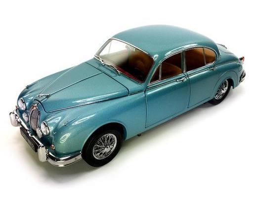 1962 JAGUAR MK II 3.8- BLUE