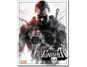 THE PUNISHER METAL SIGN
