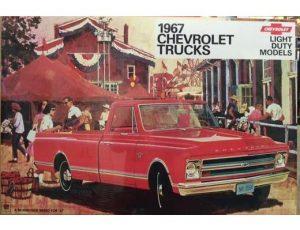 1967 CHEVROLET TRUCK POSTER