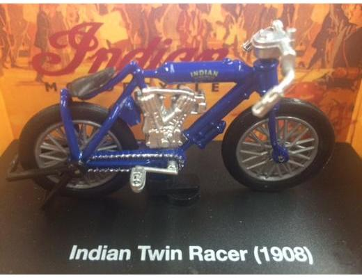 1908 Indian Twin Racer Motorcycle