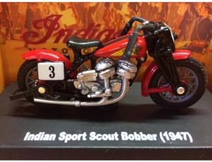 1947 Indian Sport Scout Bobber Motorcycle