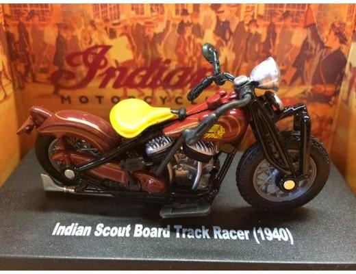 1940 Indian Scout Board Track Racer Motorcycle