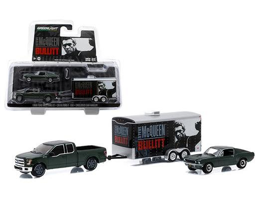 THE BULLITT MOVIE TRAILER SET
