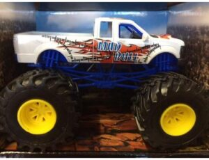 MONSTER TRUCK - WHITE - MAD BULL