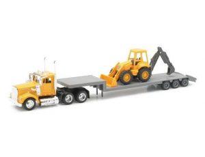 Kenworth W900 Construction Lowboy