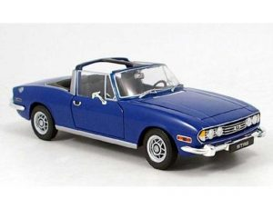 TRIUMPH STAG SEMI CONVERTIBLE - BLUE