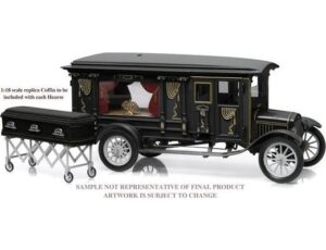 1921 Model T Hearse with Coffin