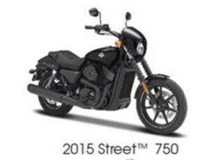 2015 HARLEY DAVIDSON STREET 750-BLACK