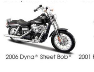 2006 HARLEY DAVDISON DYNA STREET BOB-BLACK