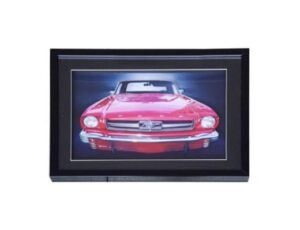 1964-1/2 Ford Mustang 3D LED Lighted Wall Art