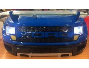 FORD F-150 RAPTOR PICK UP TRUCK FRONT END WALL SHELF WITH WORKING LIGHTS