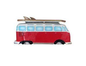 Volkswagen VW Samba Bus Side Profile Wall Shelf
