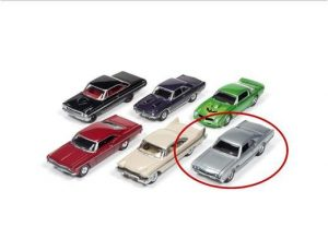 1966 Oldsmobile 442 (Silver Mist)