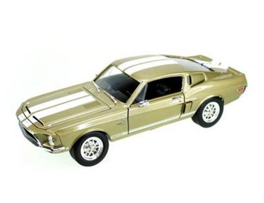 1968 FORD SHELBY GT 500K - GOLD