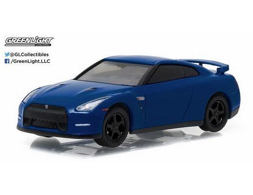 2014 Nissan GT-R (R35) in Blue -GK Muscle Series 17