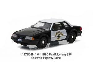 1990 Ford Mustang SSP California Highway Patrol