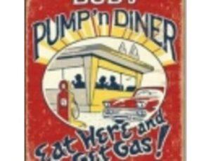 SCHONBERG- PUMP 'N DINER