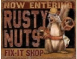 RUSTY NUTS FIX SHOP