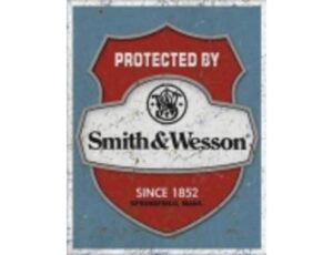 SMITH & WESSON PROTECTED BY