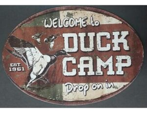WELCOME TO DUCK CAMP