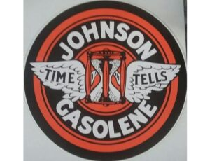 JOHNSON GASOLINE DECAL