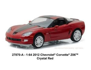 2012 Chevrolet Corvette Z06 in Crystal Red