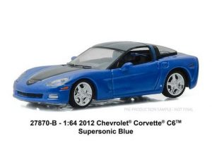 2012 Chevrolet Corvette C6 in Supersonic Blue