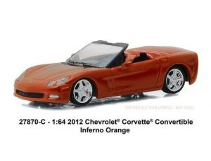 2012 Chevrolet Corvette Convertible in Inferno Orange