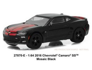 2016 Chevrolet Camaro SS in Mosaic Black