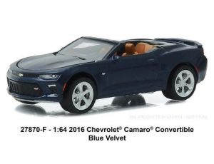 2016 Chevrolet Camaro Convertible in Blue Velvet