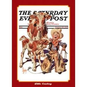 THE SATURADAY EVENING POST-COWBOY
