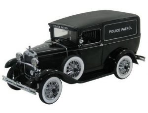 1931 FORD MODEL A PANEL POLICE