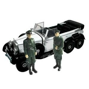 1938 MERCEDES BENZ G4 W/FIGURINES