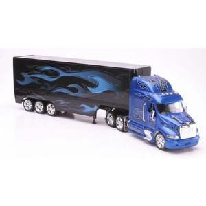PETERBILT 387 (BLUE FLAME)