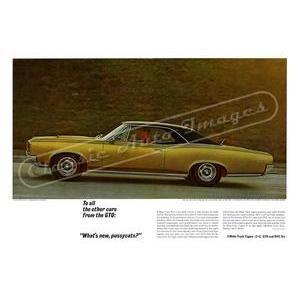 1966 PONTIAC GTO POSTER